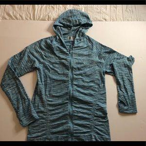 Athleta zipped hoodie